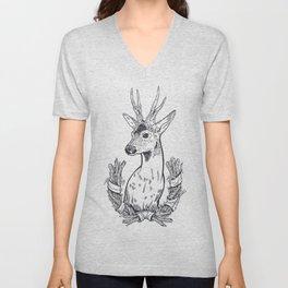 Roe or Deer Unisex V-Neck
