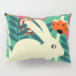 Little bunny in spring Pillow Sham