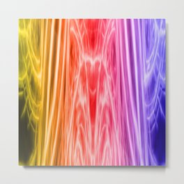 cosmic rainbow universe Metal Print