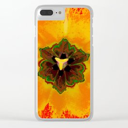 Extreme Tulip Clear iPhone Case