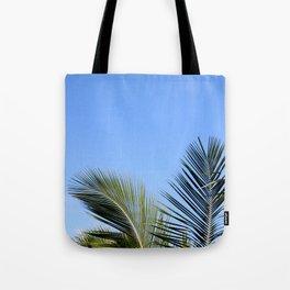 Palm Tree Sky Tote Bag