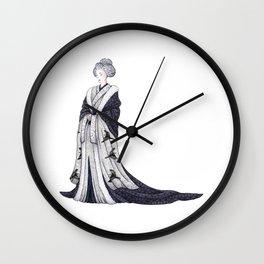 Yuki Onna Wall Clock