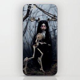 Wendigo in the Woods iPhone Skin