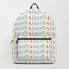 liberty 1-freedom,free,good,licence,joyy,choice,open,unrestricted,vacant,freed,large Backpack
