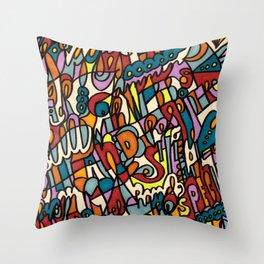 Jammin' Good Throw Pillow