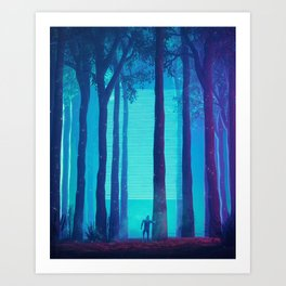 Strange to Explain Art Print