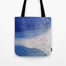 Splatter-Blue Tote Bag