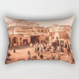 Vintage Babylon photograph Rectangular Pillow