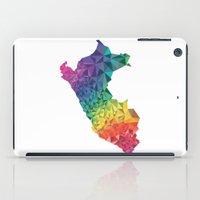 peru iPad Cases featuring Peru colors by Romivavi