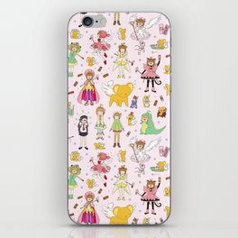 Cutest Cardcaptor! Cardcaptor Sakura Doodle iPhone Skin