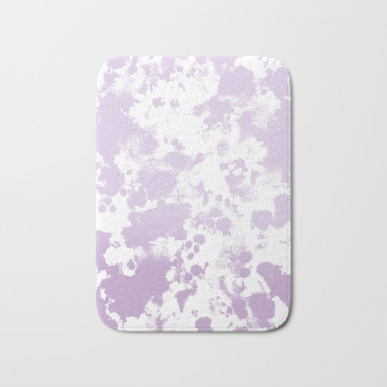 Painted abstract minimal ombre painting charlotte winter canvas art Bath Mat