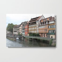 row of houses Metal Print
