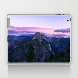 The Mountains and Purple Clouds Laptop & iPad Skin