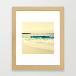 Kapalua Gold Framed Art Print