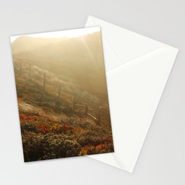 big sur cliffs Stationery Cards