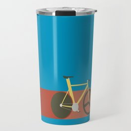 Red Track Travel Mug