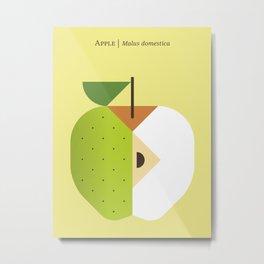 Fruit: Apple Golden Delicious Metal Print