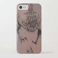 bane iPhone & iPod Cases featuring Bane, by Laura Hodgson