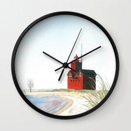 Big Red Wall Clock