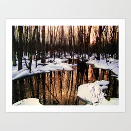 Emerging Pools II Art Print