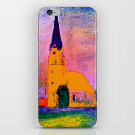 Kleine Kapelle iPhone Skin