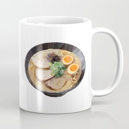 Japanese Tonkotsu Ramen Polygon Art Coffee Mug