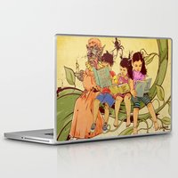 fairy tale Laptop & iPad Skins featuring Fairy Tale by Radical Ink by JP Valderrama