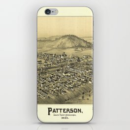 Aerial View of Patterson (Mifflin), Pennsylvania (1895) iPhone Skin