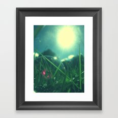 A Bubble's Perspective Framed Art Print