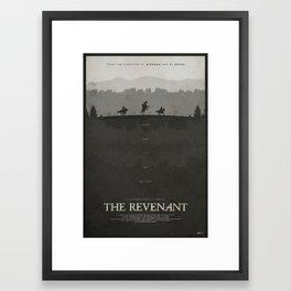 Vindication - The Revenant Framed Art Print