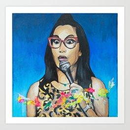 Hard Knock Wife! Art Print