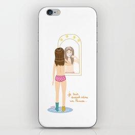Je suis quand même une Princesse  iPhone Skin