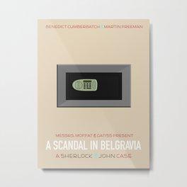 A Scandal in Belgravia Metal Print