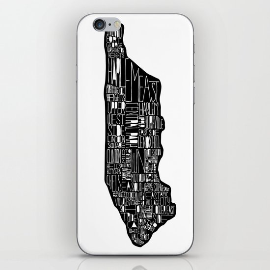 Manhattan iPhone & iPod Skin