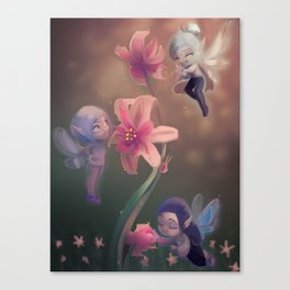 Fairy Dew Canvas Print