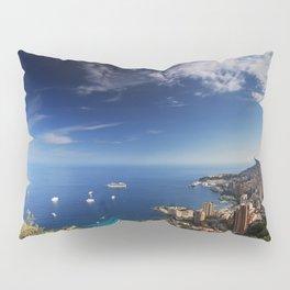 Monaco, French riviera, Sea side, Coastline, Riviera, holiday Pillow Sham