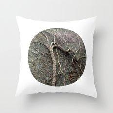 Planetary Bodies - Vines Throw Pillow