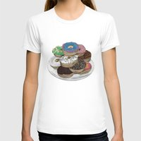 donuts T-shirts featuring Donuts by Sil-la Lopez