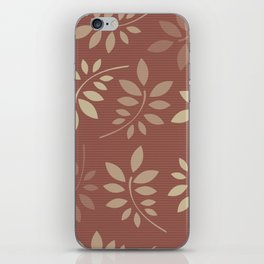 Scattered Leaves iPhone Skin