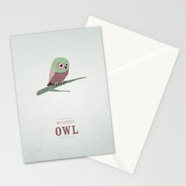 My little Owl Stationery Cards