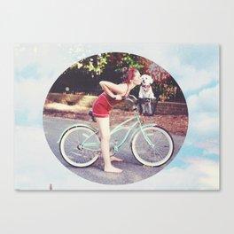 Retro Summer Canvas Print