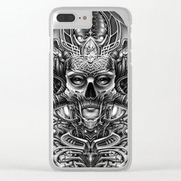 Winya No. 75 Clear iPhone Case