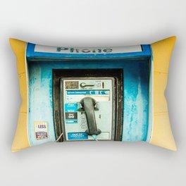 Pay Phone Rectangular Pillow