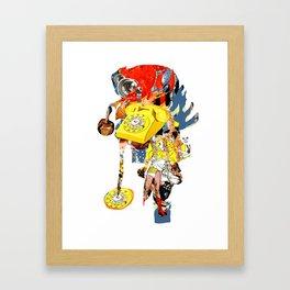 CutOuts - 9 Framed Art Print