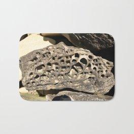 Stone Lace Small Boulder Chuckanut Formation Bellingham Washington Geology Bath Mat