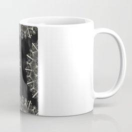 Vintage Mandala on black Coffee Mug