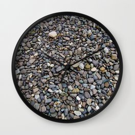 What Stories You Could Tell... Rocks of Jasper Beach Wall Clock