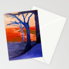 """""""Wind Whispers & Wave Lullabies"""" Stationery Cards"""
