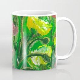 Poppies in the field Coffee Mug