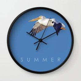 Blue Series #003 ~ Summer Wall Clock